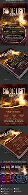 candle light service flyer templates by godserv graphicriver candle light service flyer templates church flyers