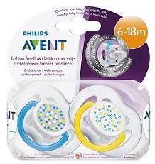 <b>Пустышка</b> силиконовая анатомическая <b>Philips AVENT</b> Freeflow ...