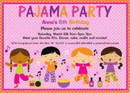 pajama party birthday invitation sleepover birthday sleepover birthday invitations pj party birthday invite printable or 128270zoom