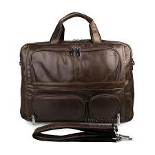 Мужские деловые сумки из натуральной кожи, Большая ...