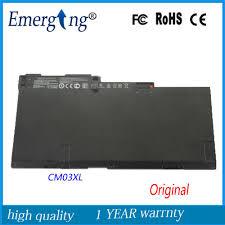 14.8v 52Wh <b>New Original Laptop Battery</b> for HP EliteBook Folio ...