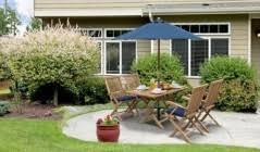 Teak <b>Folding Garden Tables</b> | Outdoor Collapsible Tables - Corido