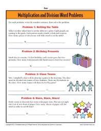 3rd Grade Word Problem WorksheetsMath Worksheets