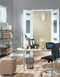 paired with brighter accessories gray is not so boring after all best paint color for office