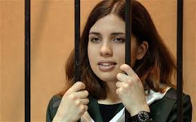 Missing Pussy Riot prisoner Nadezhda Tolokonnikova 'in Siberia hospital'. Jailed activist, who had not been heard from for almost a month, is being treated ... - PUSSY-RIOT_2690861b