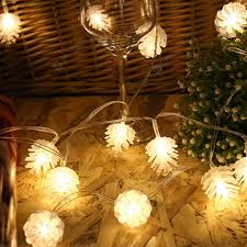 Pinecone LED Christmas Day Lantern Party Supplies Party Rooftop ...