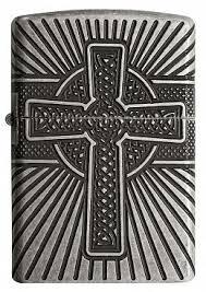 Купить <b>Зажигалка</b> ZIPPO <b>Armor</b> 29667 <b>Celtic</b> Cross Design ...