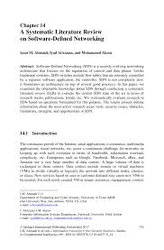 A Systematic Literature Review on Software Defined Networking      Inside