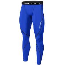 Dark Blue, M <b>Findci Men Compression</b> Tops Tight Trousers <b>Long</b> ...
