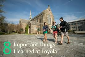 loyola magazine students 1