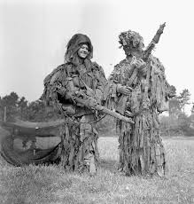 images about WW  on Pinterest Two snipers of the  st Canadian Parachute Battalion before D Day     May