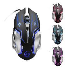 YWYT G815 Gaming Mouse 3200Dpi 6 Buttons Led Backlight <b>Usb</b> ...