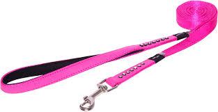 "<b>Поводок для собак Rogz</b> ""Luna"", цвет: розовый, ширина 1,6 см ..."