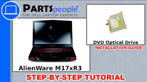 <b>Dell AlienWare M17xR3</b> DVD Optical Drive Replacement Video ...