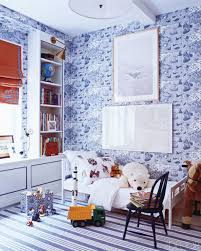designer miles redd used a crisp blue and white color scheme in the childrens boy bedroom ideas rooms