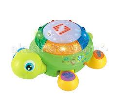 <b>Huile Toys</b> Музыкальная <b>игрушка</b> Черепашка с волшебным ...