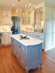 French Country Kitchen Faucet Photos Hgtv French Country White Kitchen With Blue Gray Distressed