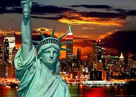 liberty bedroom wall mural: xxl poster wall mural wallpaper statue of liberty new york skyline photo  cm x  cm  yd x  yd