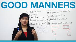 words essay on good manners to