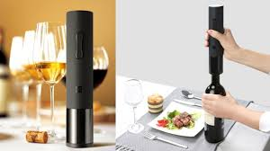 Original Xiaomi Mijia <b>Huohou</b> Automatic <b>Wine</b> Bottle Opener.(link in ...