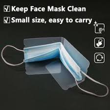 Portable Foldable Face Masks Storage Box Clip Dustproof ... - Vova