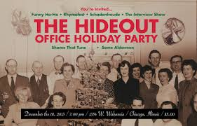 you re invited to the hideout office party zulkey com like any office party it ll be hilariously awkward amazingly wtf and probably full of terrible decisions that you can t afford not to witness