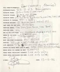 s band handwritten q as general public english beat myria 1980s band questionnaire ranking roger general public beat