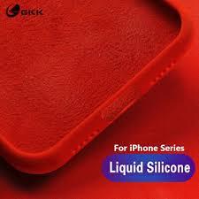 GKK <b>Liquid Silicone</b> PC Baby-<b>Skin Feel</b> Case for iPhone 6 6s 7 8 ...