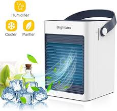 Portable <b>Mini Air Conditioner</b> Fan <b>Water</b> Cooling Cooler Humidifier ...