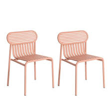 Petite Friture Week-End <b>Garden Chair</b> Set of <b>2</b> | AmbienteDirect