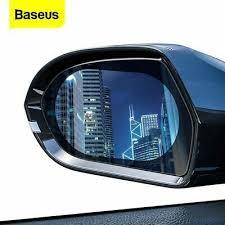 <b>Baseus</b> 2 Pcs <b>Car Rearview</b> Mirror Rainproof Film <b>0.15mm</b> Clear ...