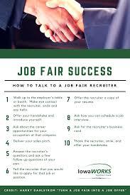 job fair success how to talk to a job fair recruiter iowaworks job fair success how to talk to a job fair recruiter
