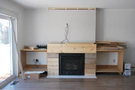 fireplace built in shelving 3 via the sweetest digs build living room built ins