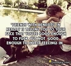 Friends with Benefits Quotes. QuotesGram via Relatably.com