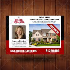 just listed direct mailer realtor branding postcard real estate just listed direct mailer realtor branding postcard real estate agent marketing custom postcard