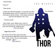 Thor Quotes on Pinterest | Marvel Quotes, Avengers Quotes and Iron ... via Relatably.com
