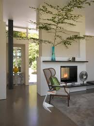 modern sides fireplace