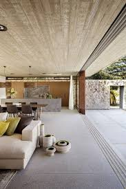 outdoor living space open wall