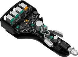 7.5A <b>Super Fast</b> Vinston QC3.0 4-Port <b>USB</b> Car Charger IPhone ...