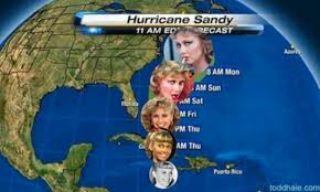 Who says Hurricane Sandy is no laughing matter? Deadly storm ... via Relatably.com