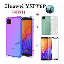 4in1 For Huawei Y5P Y6P Y7P Y9 Y7 <b>anti</b>-<b>fall</b> color mobile phone ...