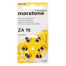 <b>Батарейка Renata ZA10</b> для слуховых аппаратов, <b>6</b> шт, блистер ...