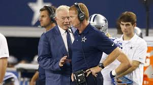 Image result for jerry jones & jason Garrett images