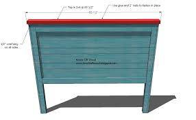 Queen Headboard Dimensions Ana White Reclaimed Wood Headboard Queen Size Diy Projects