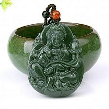 EASTCODE Charming <b>100</b>% <b>Handmade Natural</b> hetian Jade A ...