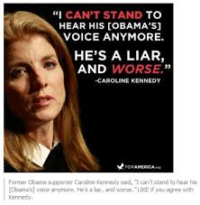 Did Caroline Kennedy Call Obama a Liar? - Urban Legends via Relatably.com
