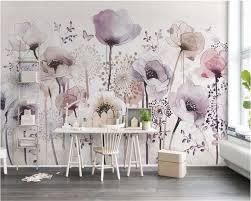 <b>beibehang</b> Aesthetic individuality wallpaper <b>watercolor</b> hand ...