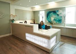 reception area at smiles by design dentistry looking for an office space for rent in noida visit best office reception areas