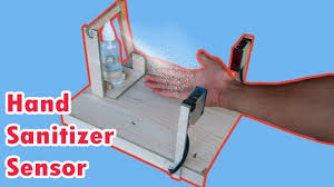 How To Make <b>Hand</b> Sanitizer Machine <b>Automatic</b> with <b>Sensor</b> - DiY ...
