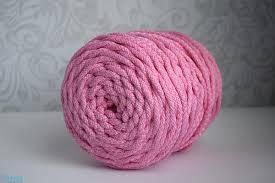 """<b>Шнур с сердечником 6</b> мм полиэфирный """"Розовый"""" 90"""